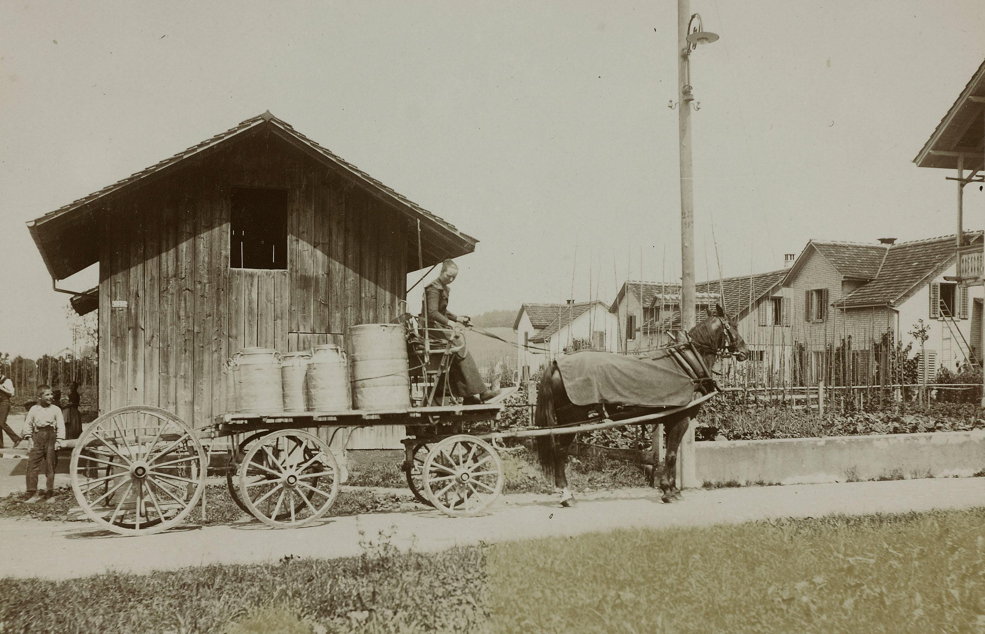 Milchfrau 1901